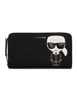 Karl Lagerfeld - K/Ikonik novčanik sa zipom - 201W3203-999 201W3203-999