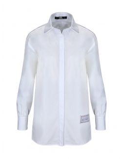 Karl Lagerfeld - Klasična bela košulja - 205W1612-100 205W1612-100