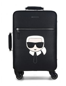 Karl Lagerfeld - K/Ikonik kofer sa točkovima - 205W3007-999 205W3007-999