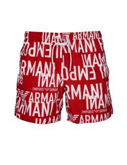 Emporio Armani - Šorts za kupanje sa logo printom - 211740-1P428-06574 211740-1P428-06574