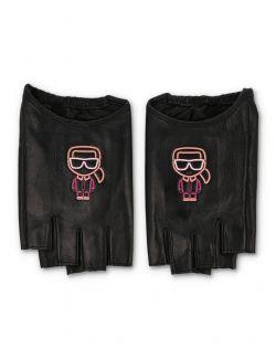 Karl Lagerfeld - Ikonik Biarritz rukavice - 215W3601-999 215W3601-999