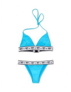 Chiara Ferragni - Logomania bikini - 21PE-CFBK019 TURQUOISE 21PE-CFBK019 TURQUOISE