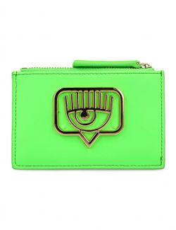 Chiara Ferragni - Eyelike novčanik za kartice - 21PE-CFCDH006 GREEN 21PE-CFCDH006 GREEN
