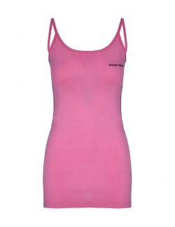 Chiara Ferragni - Pink pamučna haljina na bretele - 21PE-CFDR050 PINK 21PE-CFDR050 PINK