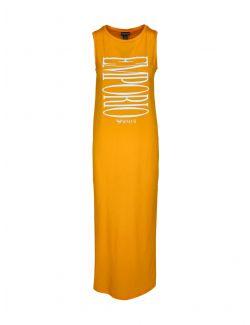 Emporio Armani - Duga haljina sa logo printom - 262635-1P340-15362 262635-1P340-15362