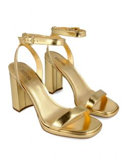 Michael Kors - Kožne sandale na visoku štiklu - 40S1ANHS1M-710 40S1ANHS1M-710