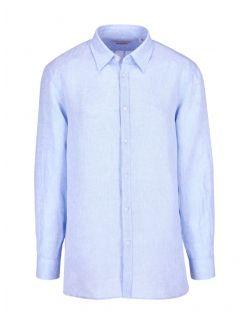 Trussardi - Košulja od lana - 52C00212-1T002248-U140 52C00212-1T002248-U140