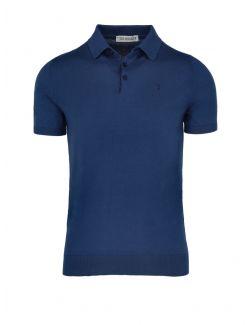 Trussardi - Polo majica sa dugmićima - 52M00482-0F000668-U290 52M00482-0F000668-U290