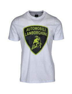 Lamborghini - Bela majica sa printom - B3XWB7A8-005 B3XWB7A8-005