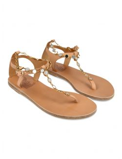 Ancient Greek Sandals - Kožne japanke - CHRYSSO MIRRORS-002 CHRYSSO MIRRORS-002