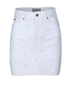 Ermanno Scervino - Mini suknja sa vezom - D38ETGJ04OPR-MF010 D38ETGJ04OPR-MF010