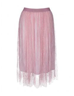 Ermanno Scervino - Čipkana suknja u roze boji - D38ETGN05PIZ-MF818 D38ETGN05PIZ-MF818
