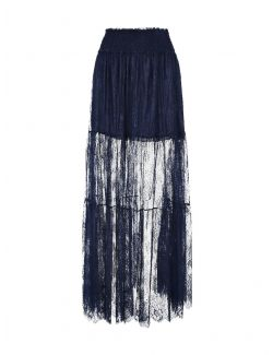 Ermanno Scervino - Duga suknja od čipke - D38ETGN15PIZ-MF815 D38ETGN15PIZ-MF815