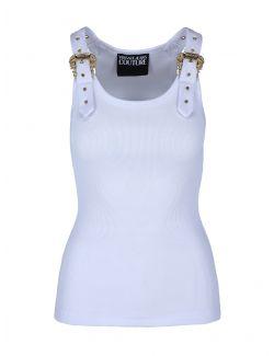 Versace Jeans Couture - Rebrasta majica sa kopčama - D3HWA651-003 D3HWA651-003