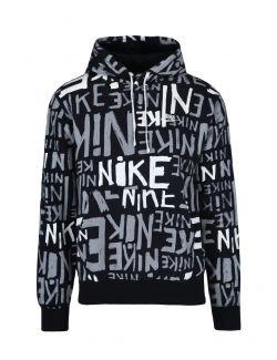 Nike - Duks sa kapuljačom i logo-printom - DA0061-010 DA0061-010