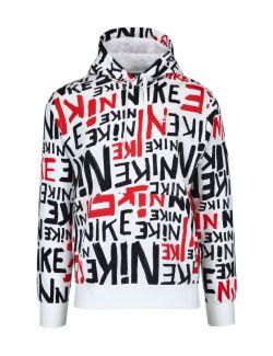 Nike - Duks sa kapuljačom i logo-printom - DA0061-657 DA0061-657