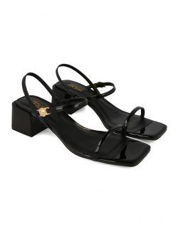 Versace Jeans Couture - Crne sandale - E0VWAS32-899 E0VWAS32-899