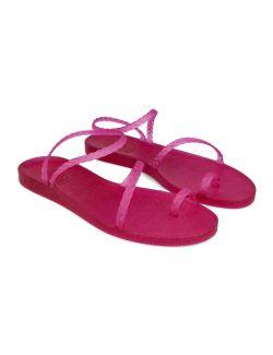 Ancient Greek Sandals - Gumene ravne sandale - ELEFTHERIA-008 ELEFTHERIA-008