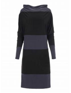 Norma Kamali - Asimetrična haljina - KK5213PL011196-PEWTER KK5213PL011196-PEWTER