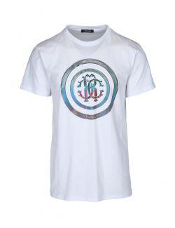 Roberto Cavalli Sport - Bela majica sa printom - MYH09T-53 MYH09T-53