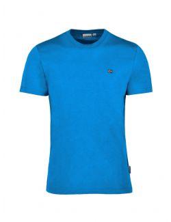 Napapijri - Pamučna majica sa mini logom - NP0A4EW8BC91 NP0A4EW8BC91