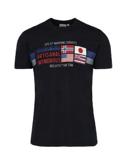 Napapijri - Pamučna majica sa printom - NP0A4F6J0411 NP0A4F6J0411