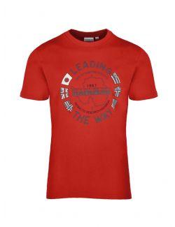 Napapijri - Pamučna majica sa printom - NP0A4F6P0941 NP0A4F6P0941