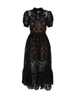 Self Portrait - Midi haljina od čipke - SS21-092 SS21-092