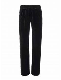 Norma Kamali - Plišane pantalone - ST5217VE125149-BLACK ST5217VE125149-BLACK