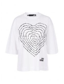 Love Moschino - Majica sa printom - W4H0904M3517-A00 W4H0904M3517-A00