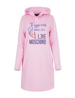 Love Moschino - Mini haljina sa kapuljačom - W5B1904M4055-L89 W5B1904M4055-L89