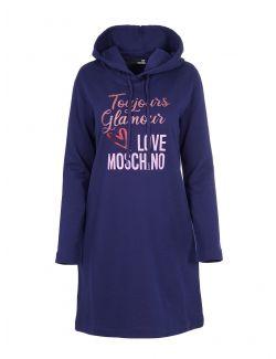 Love Moschino - Mini haljina sa kapuljačom - W5B1904M4055-Y58 W5B1904M4055-Y58
