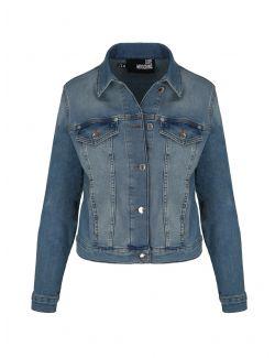 Love Moschino - Teksas jakna - W H 609 12 S 3500-222C W H 609 12 S 3500-222C