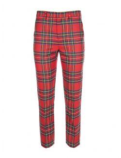 Red Valentino - Karirane pantalone - WR3RBD855YF-157 WR3RBD855YF-157