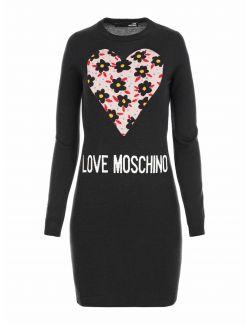 Love Moschino - Džemper-haljina - WS72R11X0046-C74 WS72R11X0046-C74