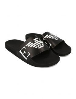 Emporio Armani - Gumene papuče sa logom - X4PS06-XM760-A040 X4PS06-XM760-A040