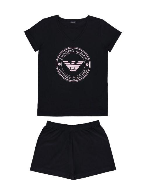 Emporio Armani - Pamučna pidžama sa logom - 164448-1P255-00020 164448-1P255-00020
