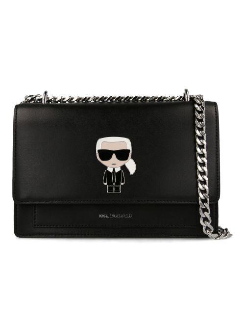 Karl Lagerfeld - K/Ikonik torba na rame - 205W3057-999 205W3057-999