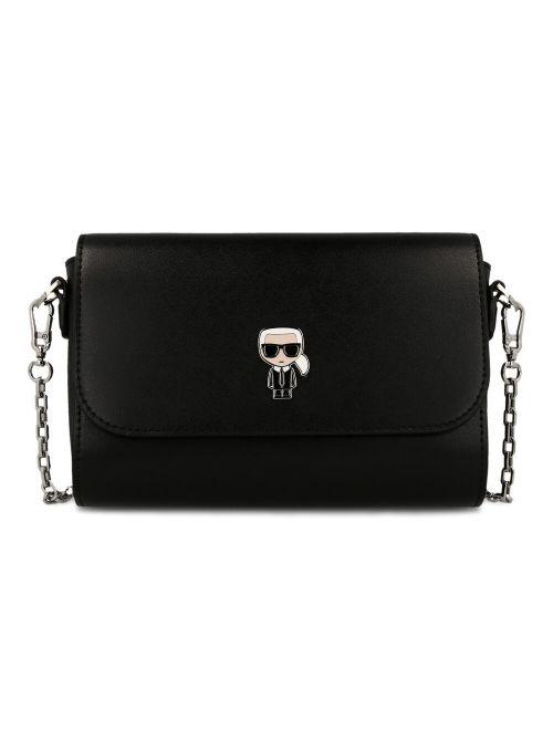 Karl Lagerfeld - K/Ikonik torba na rame - 205W3099-999 205W3099-999