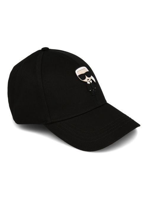Karl Lagerfeld - K/Ikonik kačket - 205W3403-999 205W3403-999