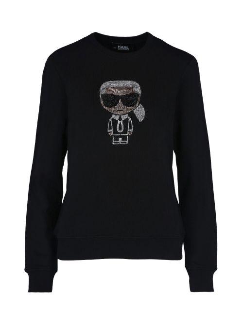 Karl Lagerfeld - Ikonik Karl duks sa kristalima - 210W1822-999 210W1822-999