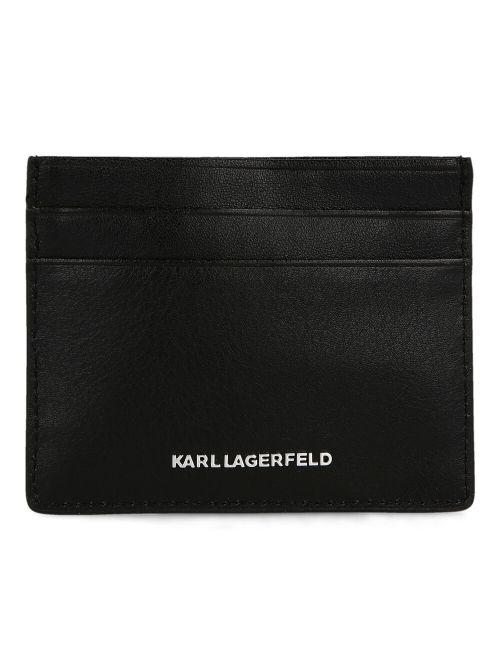 Karl Lagerfeld - K/Ikonik novčanik za kartice - 210W3227-999 210W3227-999