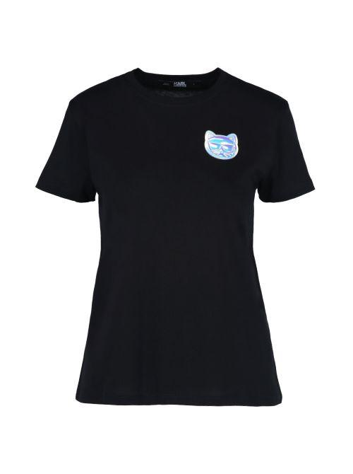 Karl Lagerfeld - Mini Ikonik Choupette pamučna majica - 211W1716-999 211W1716-999