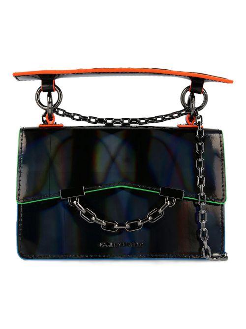Karl Lagerfeld - K/Karl Seven Mini kožna torba - 211W3045-999 211W3045-999