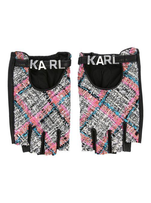 Karl Lagerfeld - K/Studio rukavice bez prstiju - 211W3604-568 211W3604-568
