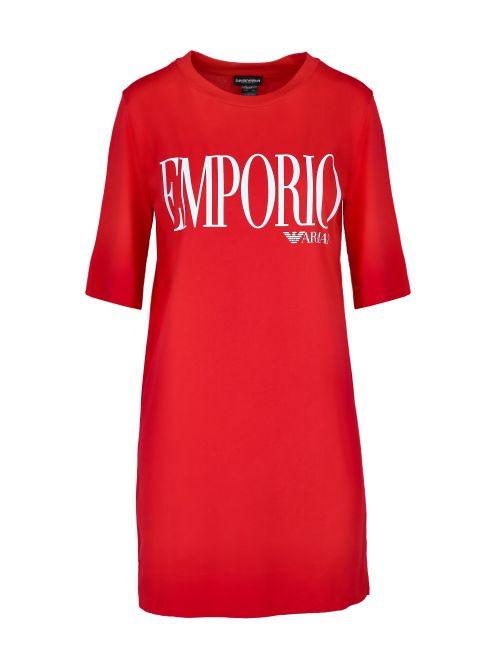 Emporio Armani - Oversized majica-haljina sa logom - 262676-1P340-33974 262676-1P340-33974