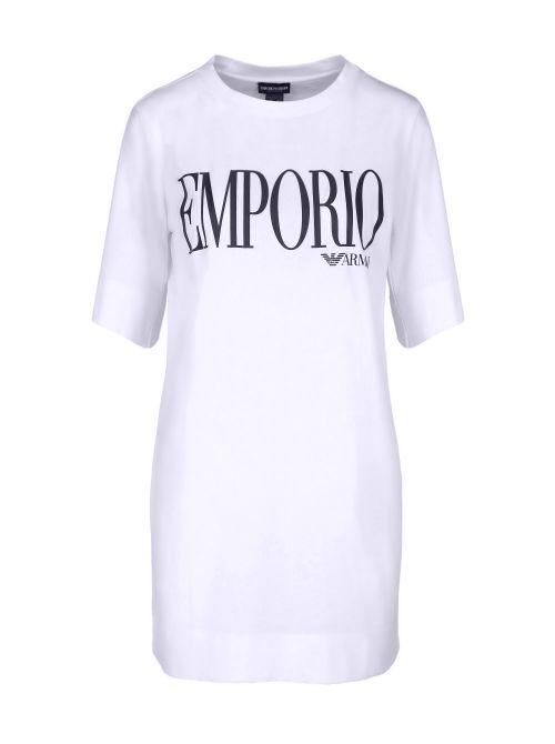 Emporio Armani - Oversized majica-haljina sa logom - 262676-1P340-71710 262676-1P340-71710