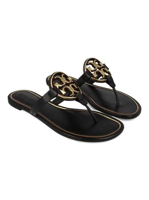 Tory Burch - Miller kožne ravne sandale - 47617-013 47617-013