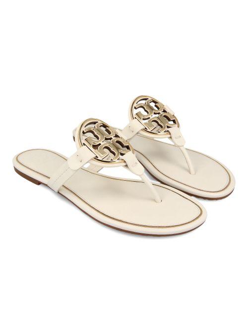 Tory Burch - Miller kožne ravne sandale - 47617-105 47617-105