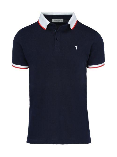 Trussardi - Polo majica sa dugmićima - 52T00491-1T003600-U290 52T00491-1T003600-U290